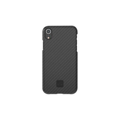 Happy Plugs Phone Case, iPhone XR, Carbon Fiber