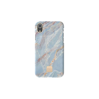 Happy Plugs Phone Case, Blue Quartz