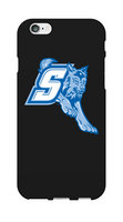 Sonoma State University Custom Logo iPhone 6 Case, Black