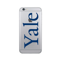 Centon Yale University Clear Phone Case, Classic V1  iPhone 8766s