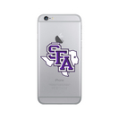 Centon Stephen F. Austin State Clear Phone Case, Classic  iPhone 8766s