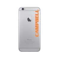 Centon Campbell University Clear Phone Case, Classic  iPhone 77S