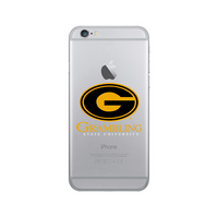 Centon Grambling State University Clear Phone Case, Classic  iPhone 77S