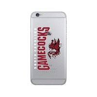 Centon University of South Carolina Clear Phone Case, Classic V2  iPhone 8766s