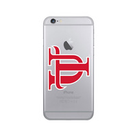 Centon University of Tampa Clear Phone Case, Classic V1  iPhone 678 Plus