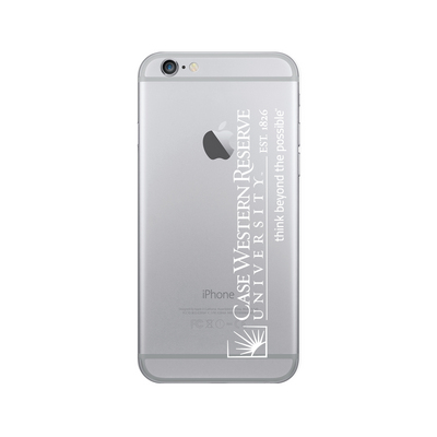 Centon Case Western Reserve University Clear Phone Case, Classic  iPhone 77S