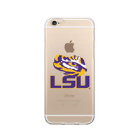 Centon Louisiana State University Clear Phone Case, Classic V1  iPhone 77S