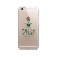 Centon College of William & Mary Clear Phone Case, Classic V1  iPhone 7 Plus