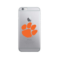 Centon Clemson University Clear Phone Case, Classic V1  iPhone 8766s
