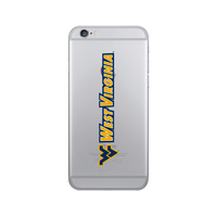 Centon West Virginia University Clear Phone Case, Classic V1  iPhone 77S
