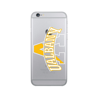 Centon University of Albany Clear Phone Case, Classic  iPhone 7 Plus