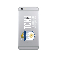 Centon The College of New Jersey Clear Phone Case, Classic  iPhone 678 Plus