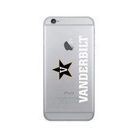 Centon Vanderbilt University Clear Phone Case, Classic V1  iPhone 678 Plus