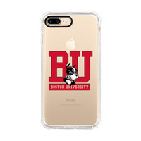 Centon Boston UniversityClear Rugged Edge Phone Case,Classic iPhone 78
