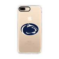 Centon Penn State UniversityClear Rugged Edge Phone Case,Classic iPhone 78
