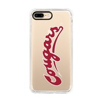 Centon Washington State UniversityClear Rugged Edge Phone Case,Classic iPhone 78