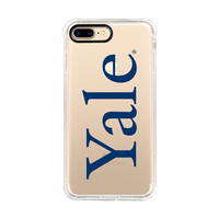 Centon Yale UniversityClear Rugged Edge Phone Case,Classic iPhone 78