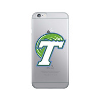 Centon Tulane University V3 iPhone 8766s Hybrid Clear Phone Case, Classic