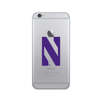 Centon Northwestern University Clear Phone Case, Classic V1  iPhone 8766s Plus Hybrid