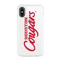 Centon University of Houston V2 Clear Slim Rugged Edge Case, Classic V1  iPhone X