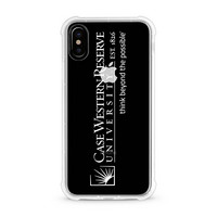 Centon Case Western Reserve University Clear Slim Rugged Edge Case, Classic V1  iPhone X