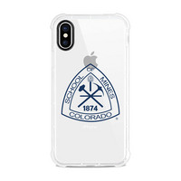 Centon Colorado School of Mines Clear Slim Rugged Edge Case, Classic V1  iPhone X