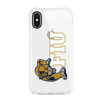Centon Florida International University Clear Slim Rugged Edge Case, Classic V1  iPhone X