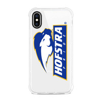 Centon Hofstra University V2 Clear Slim Rugged Edge Case, Classic V1  iPhone X