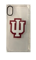 Centon Indiana University Clear Slim Rugged Edge Case, Classic V1  iPhone X