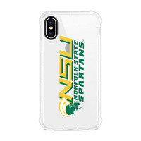 Centon Norfolk State University Clear Slim Rugged Edge Case, Classic V1  iPhone X