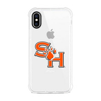 Centon Sam Houston State University Clear Slim Rugged Edge Case, Classic V1  iPhone X