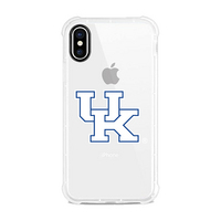 Centon University of Kentucky V2 Clear Slim Rugged Edge Case, Classic V1  iPhone X