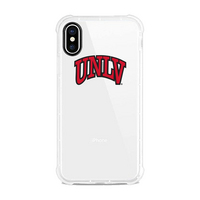 Centon University of Nevada  Las Vegas Clear Slim Rugged Edge Case, Classic V1  iPhone X