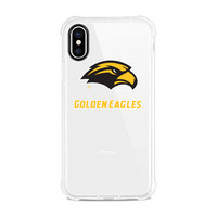 Centon University of Southern Mississippi V2 Clear Slim Rugged Edge Case, Classic V1  iPhone X