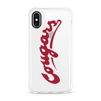 Centon Washington State University Clear Rugged Edge Phone Case, Classic V1  iPhone X