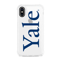 Centon Yale University Clear Rugged Edge Phone Case, Classic V1  iPhone X