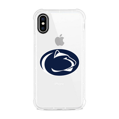 Centon Penn State University Clear Rugged Edge Phone Case, Classic V1  iPhone X