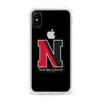 Centon Northeastern University V2 Clear Rugged Edge Phone Case, Classic V1  iPhone X