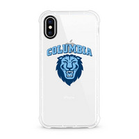 Centon Columbia University Clear Rugged Edge Phone Case, Classic V1  iPhone X