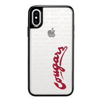 Centon Washington State University BlackFrost Snap Shell Phone Case, Spirit  iPhone X
