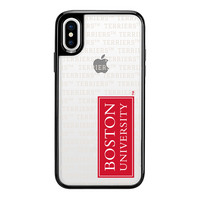 Centon Boston University BlackFrost Snap Shell Phone Case, Spirit  iPhone X