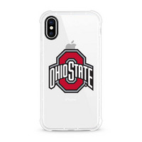 Centon Ohio State University V2 Clear Rugged Edge Phone Case, Classic V1  iPhone X