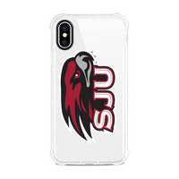 Centon Saint Josephs University V2 Clear Rugged Edge Phone Case, Classic V1  iPhone X