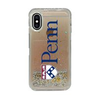 Clear Glitter Shell Phone Case, Classic V1  iPhone X