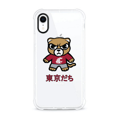 (Tokyodachi) Clear Tough Edge Phone Case, Classic V1  iPhone XR