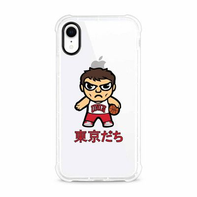 Tokyodachi Clear Tough Edge Phone Case, Classic V1  iPhone XR