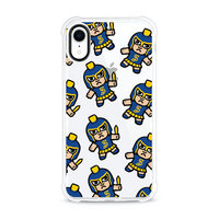 (Tokyodachi) Clear Tough Edge Phone Case, Mascot V2  iPhone XR