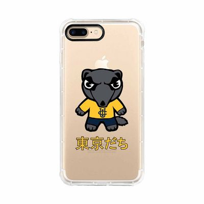Tokyodachi Clear Tough Edge Phone Case, Classic V1  iPhone 78