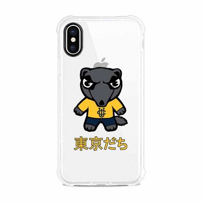 Tokyodachi Clear Tough Edge Phone Case, Classic V1  iPhone XS Max