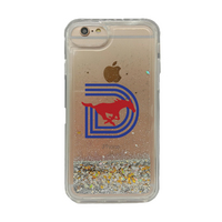 Triple D Clear Glitter Shell Phone Case, Classic V1  iPhone 78